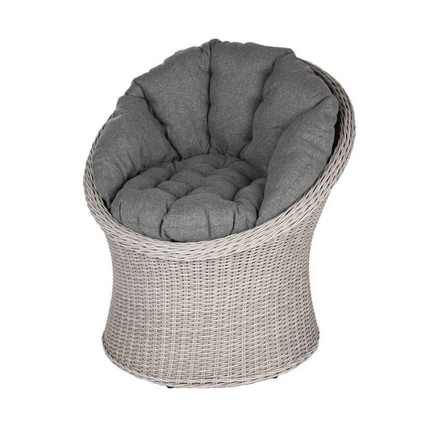 salon de jardin manille gris clair 2 places salon de. Black Bedroom Furniture Sets. Home Design Ideas