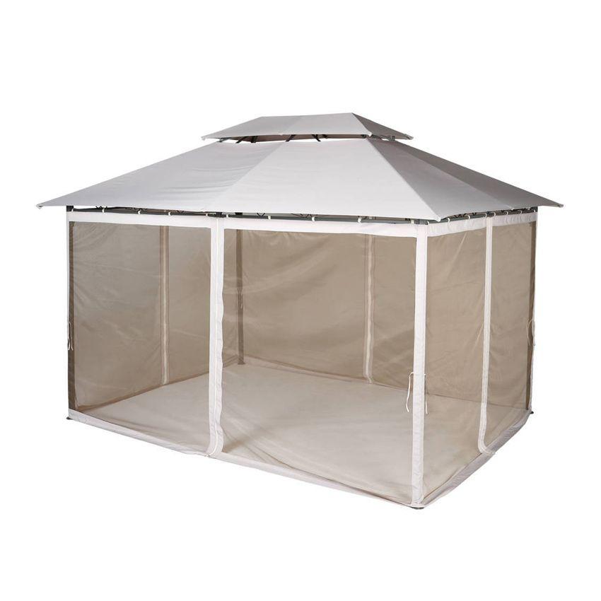 toile de tonnelle fogo 3 x l3 m sable structure. Black Bedroom Furniture Sets. Home Design Ideas