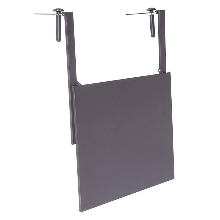 tablette de balcon rabattable baltra 60 x 53 cm ardoise table de jardin eminza. Black Bedroom Furniture Sets. Home Design Ideas
