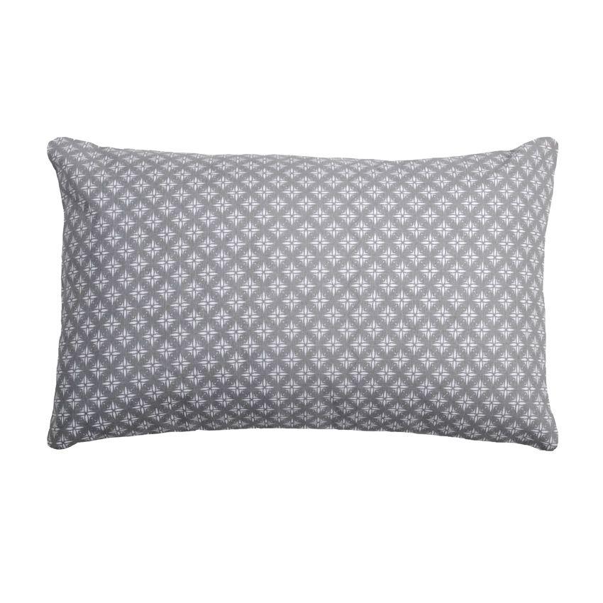 coussin rectangulaire charles gris coussin et housse de. Black Bedroom Furniture Sets. Home Design Ideas