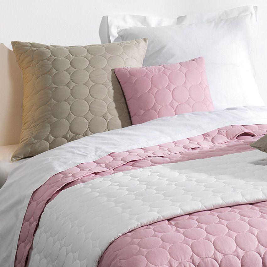 housse de coussin boutis 40 cm candy rose drag e coussin et galette eminza. Black Bedroom Furniture Sets. Home Design Ideas