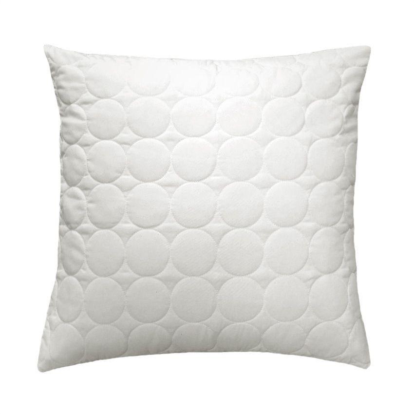 housse de coussin boutis 60 cm candy blanc coussin et housse de coussin eminza. Black Bedroom Furniture Sets. Home Design Ideas