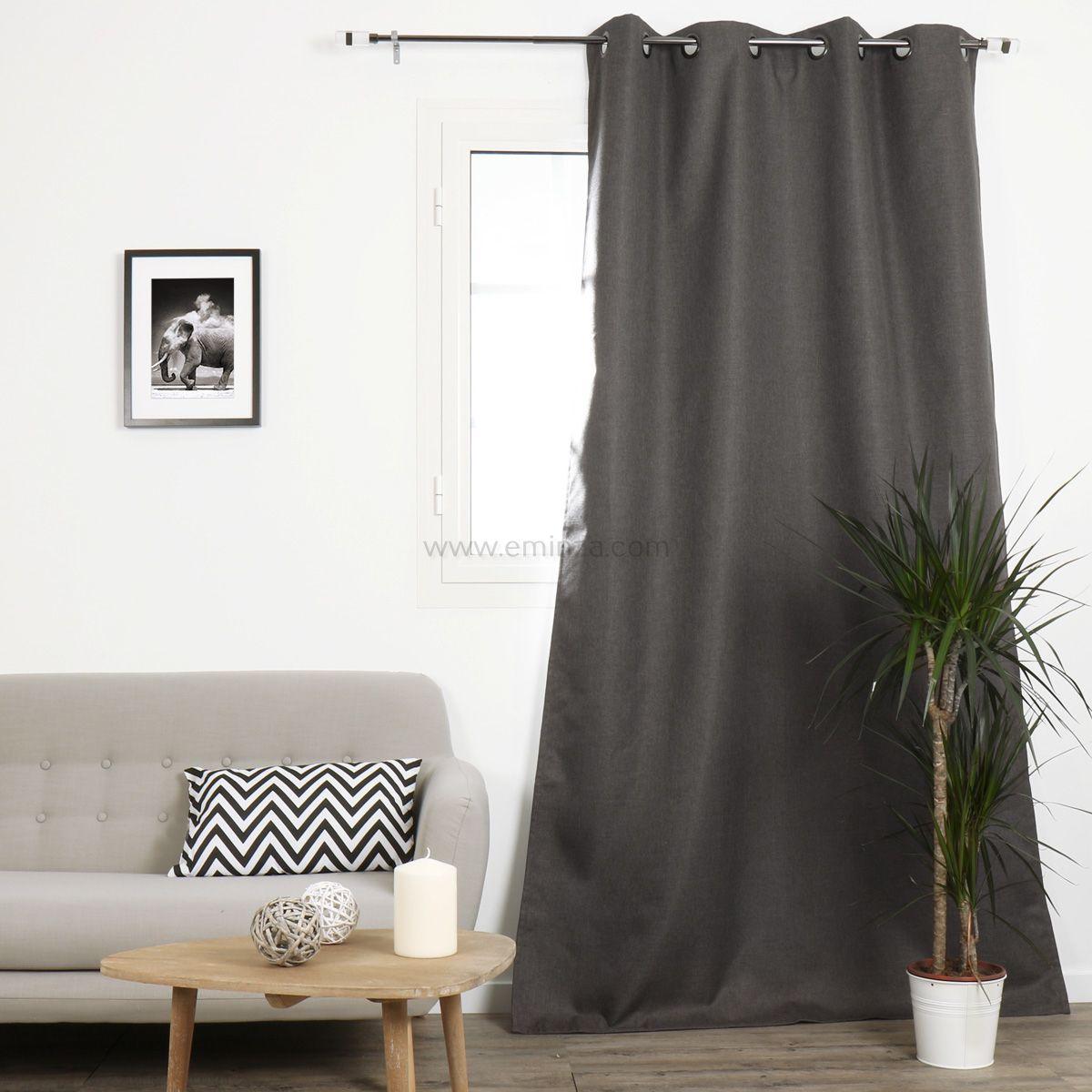 rideau occultant hauteur 140 amazing rideau occultant grande hauteur x cm taupe with rideau. Black Bedroom Furniture Sets. Home Design Ideas