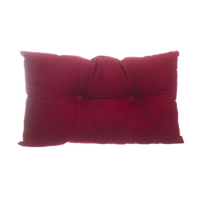 coussin rectangulaire lina bordeaux coussin eminza. Black Bedroom Furniture Sets. Home Design Ideas