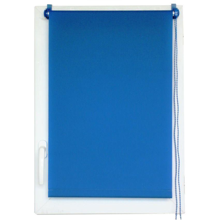 store enrouleur tamisant 45 x h180 cm uni bleu store enrouleur eminza. Black Bedroom Furniture Sets. Home Design Ideas