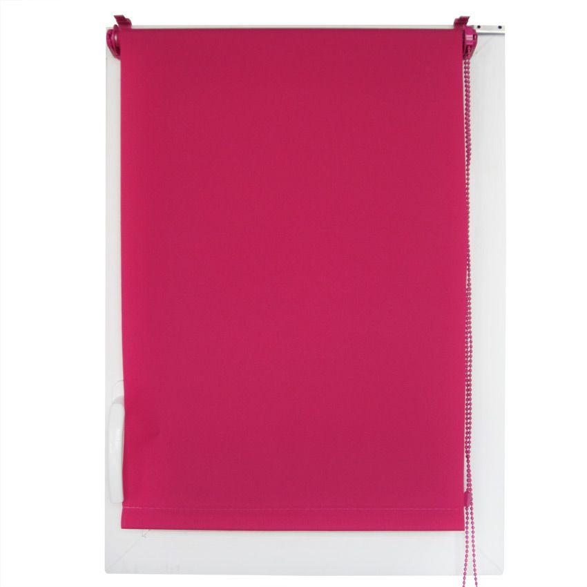 store enrouleur tamisant 45 x h180 cm uni fuchsia store enrouleur eminza. Black Bedroom Furniture Sets. Home Design Ideas
