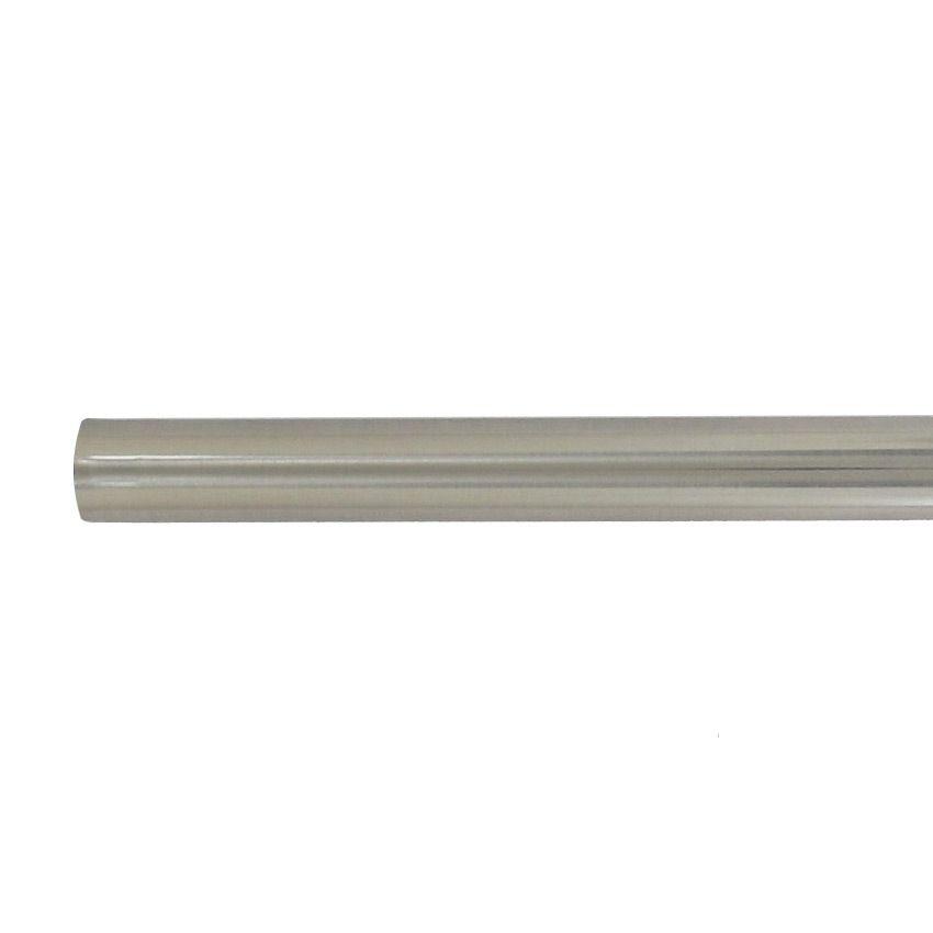 tube acier 2 m chrome tube et support eminza. Black Bedroom Furniture Sets. Home Design Ideas