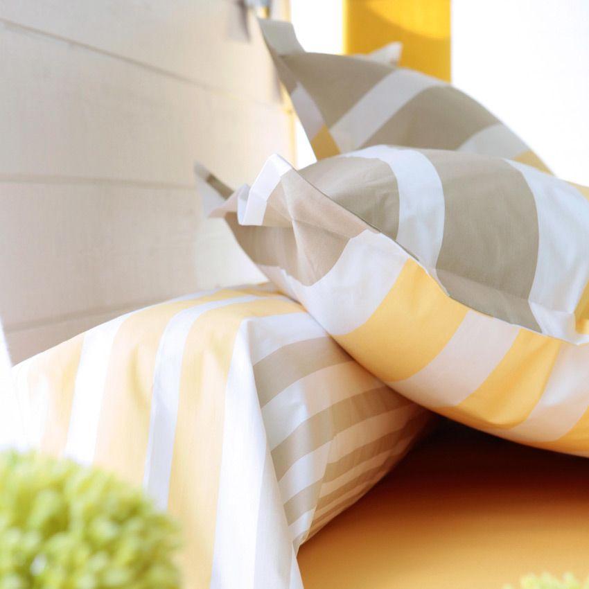 housse de couette et deux taies 260 cm narcisse housse de couette eminza. Black Bedroom Furniture Sets. Home Design Ideas