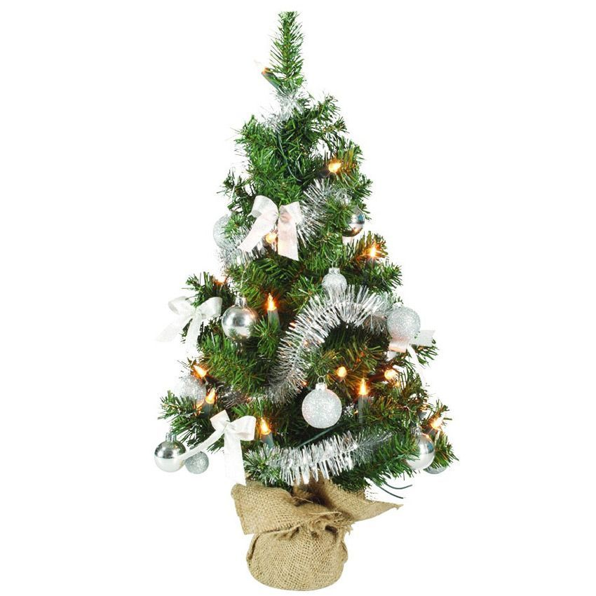 Sapin artificiel de table pr illumin sublima h60 cm or - Sapin de noel illumine ...