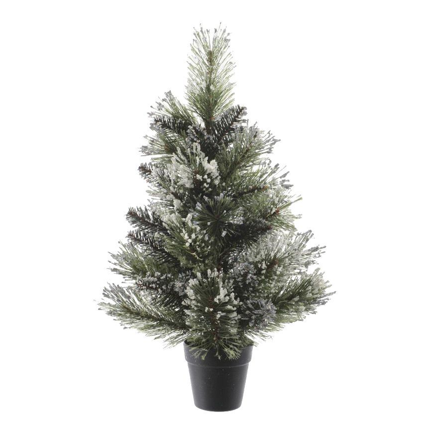 Sapin Artificiel De Table Finley H75 Cm Vert Enneig Sapin De Table Eminza