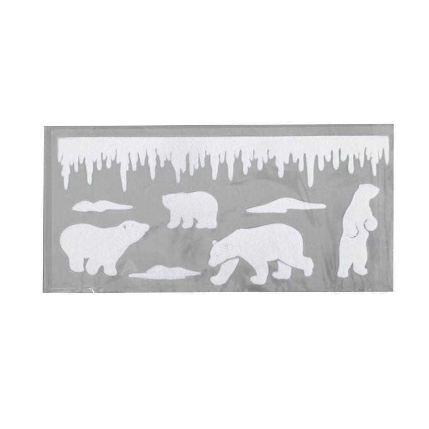 stickers pour fen tre famille ours vitrostatique et sticker eminza. Black Bedroom Furniture Sets. Home Design Ideas