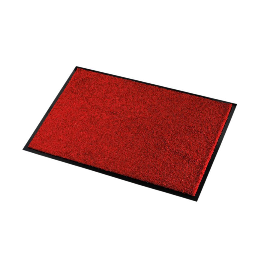 tapis d 39 entr e 60 cm wash clean rouge tapis d 39 entr e. Black Bedroom Furniture Sets. Home Design Ideas
