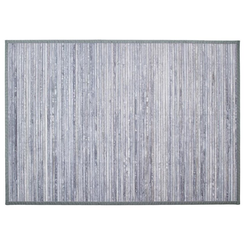 tapis lattes 170 cm bambou gris tapis de chambre salon. Black Bedroom Furniture Sets. Home Design Ideas