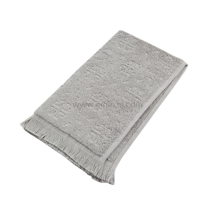 serviette de bain 50 x 90 cm cisele gris serviette de bain eminza. Black Bedroom Furniture Sets. Home Design Ideas