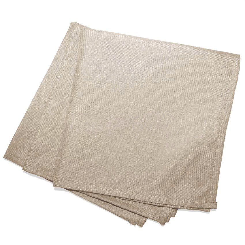 lot de 3 serviettes essentiel lin serviette de table. Black Bedroom Furniture Sets. Home Design Ideas