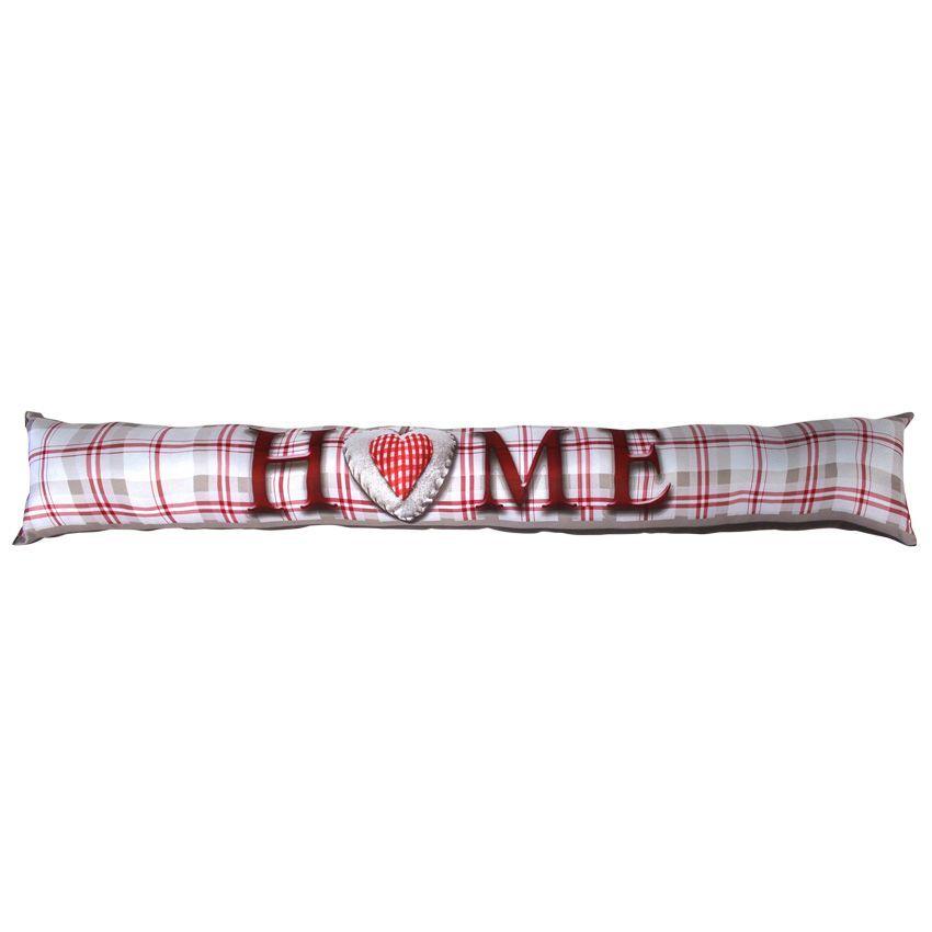 coussin bas de porte vichy home taupe coussin bas de porte eminza. Black Bedroom Furniture Sets. Home Design Ideas