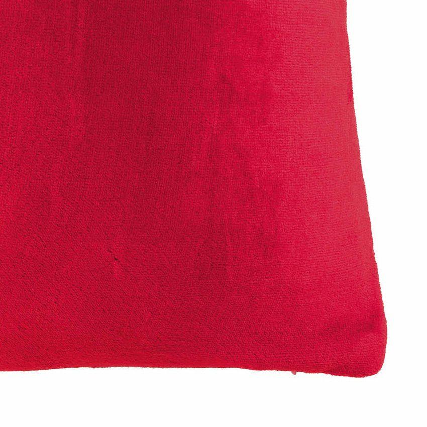 Housse de coussin dotti rouge coussin et housse de - Housse de coussin rouge ...
