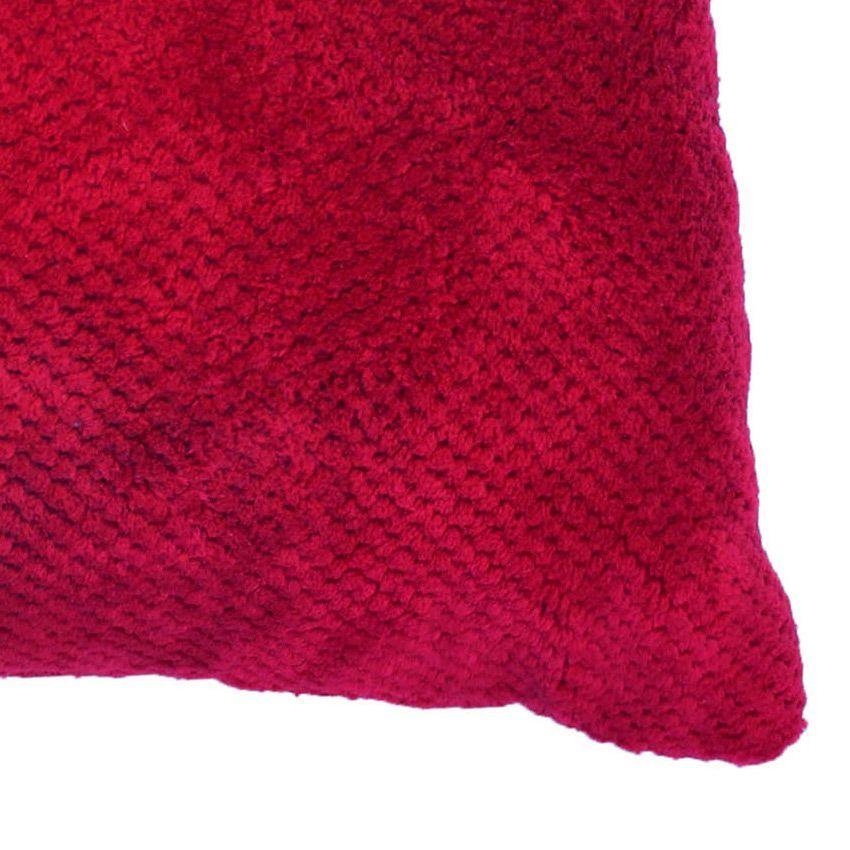 Housse de coussin calinou rouge housse de coussin eminza for Housse coussin rouge