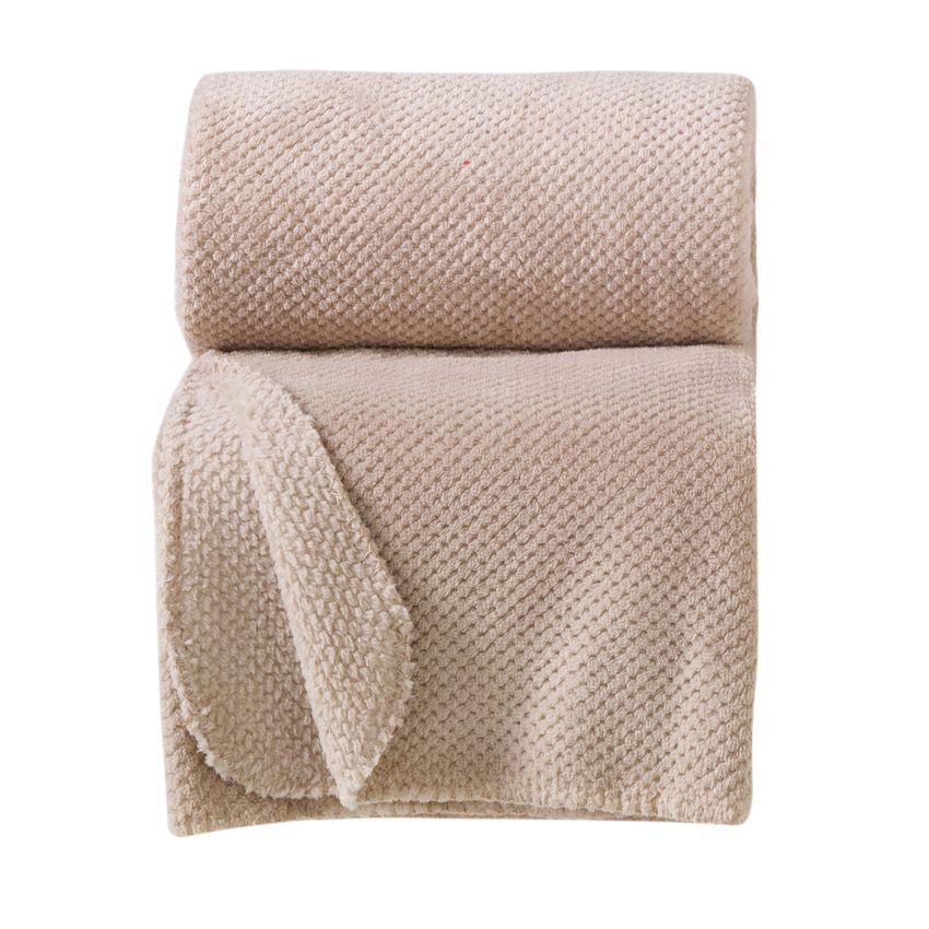 plaid jacquard calinou lin plaid cocooning eminza. Black Bedroom Furniture Sets. Home Design Ideas