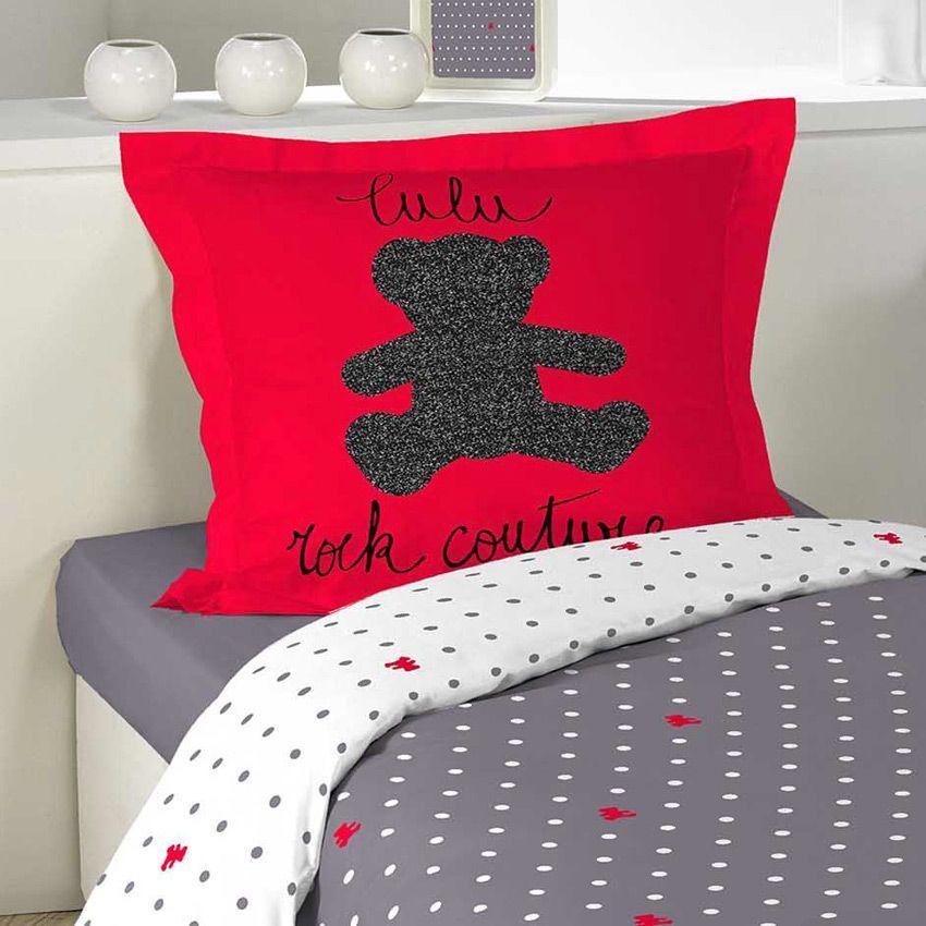 housse de couette et une taie 140 cm lulu trend housse de couette eminza. Black Bedroom Furniture Sets. Home Design Ideas