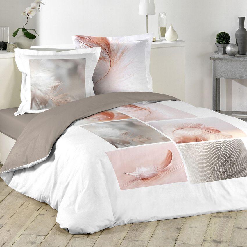 housse de couette et deux taies 240 cm light plume housse de couette eminza. Black Bedroom Furniture Sets. Home Design Ideas