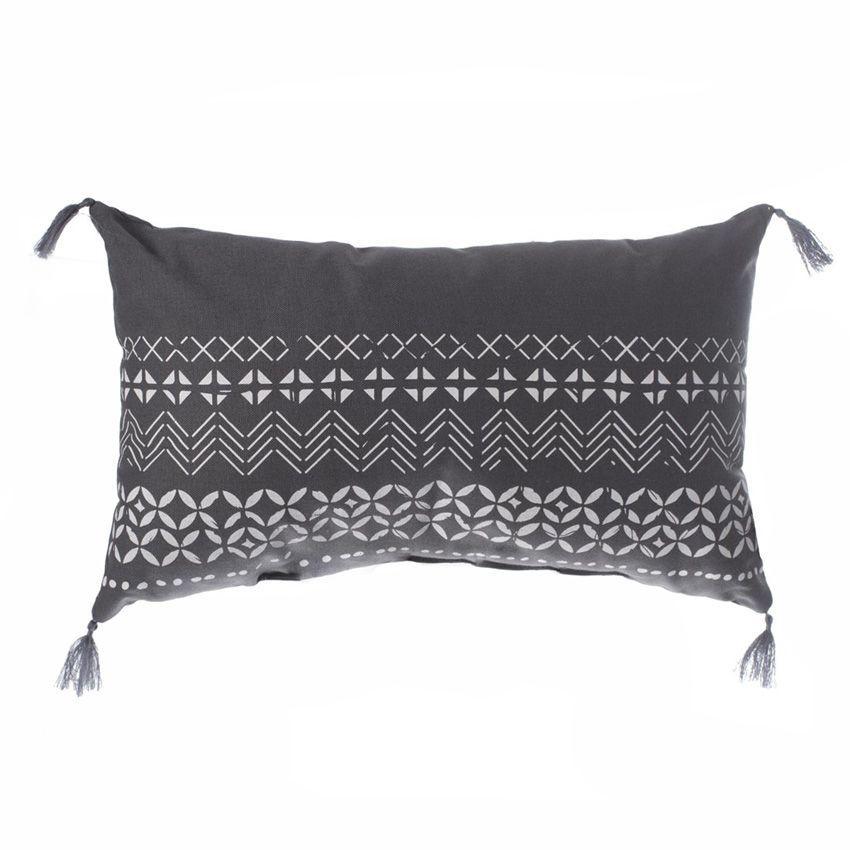 coussin rectangulaire instinct gris coussin et housse de. Black Bedroom Furniture Sets. Home Design Ideas