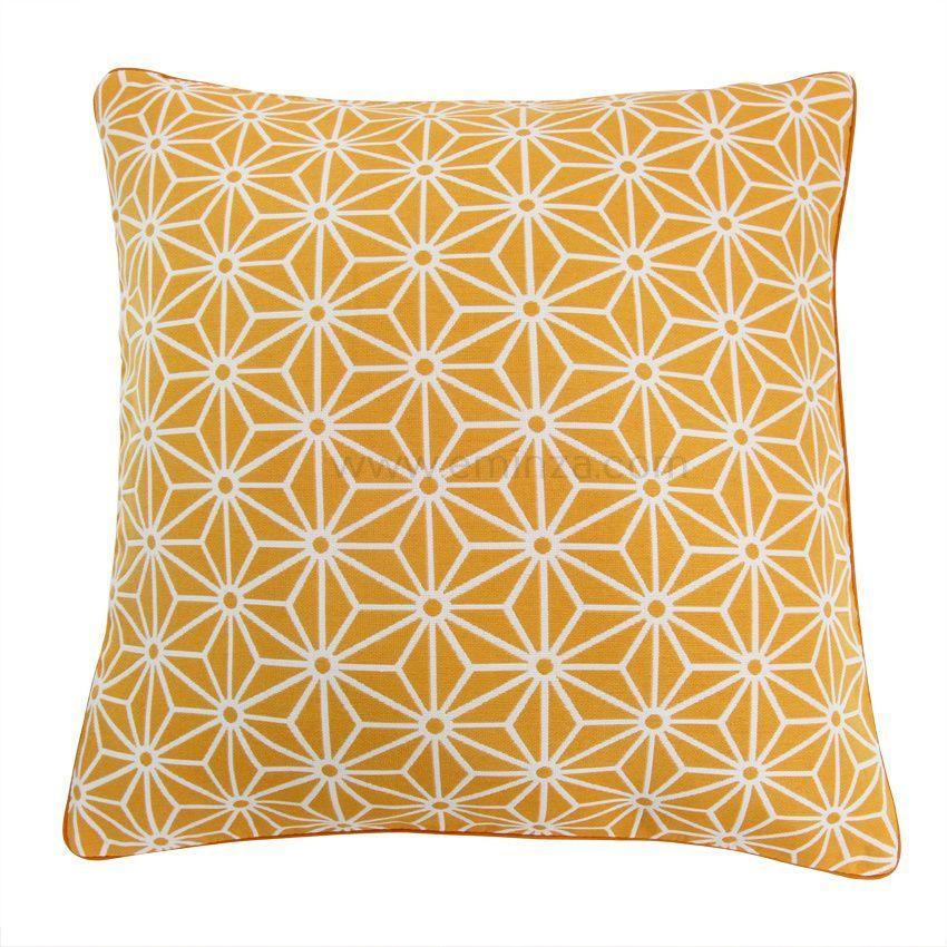 housse de coussin cristal orange housse de coussin eminza. Black Bedroom Furniture Sets. Home Design Ideas