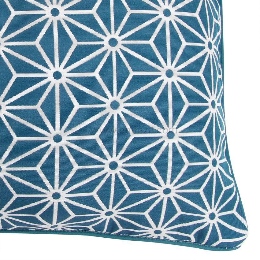 Housse de coussin cristal bleu coussin et housse de - Housse de coussin bleu ...