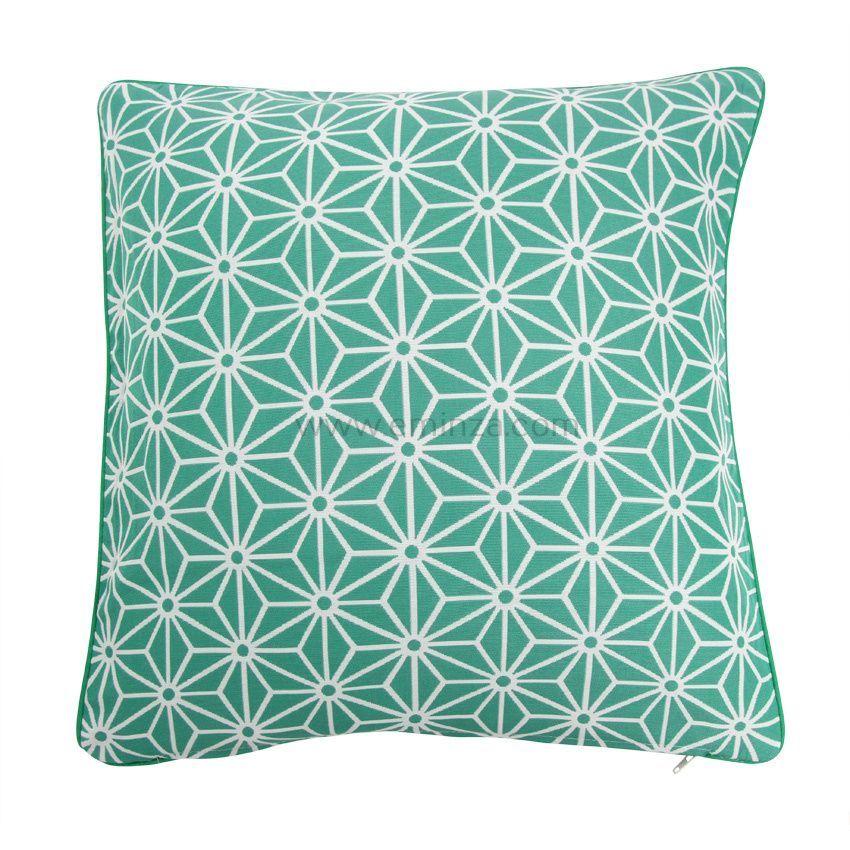 housse de coussin cristal vert coussin et housse de coussin eminza. Black Bedroom Furniture Sets. Home Design Ideas