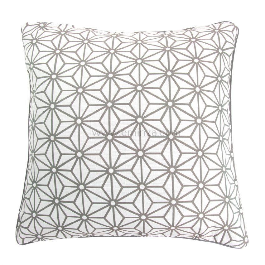 housse de coussin cristal gris coussin et housse de coussin eminza. Black Bedroom Furniture Sets. Home Design Ideas