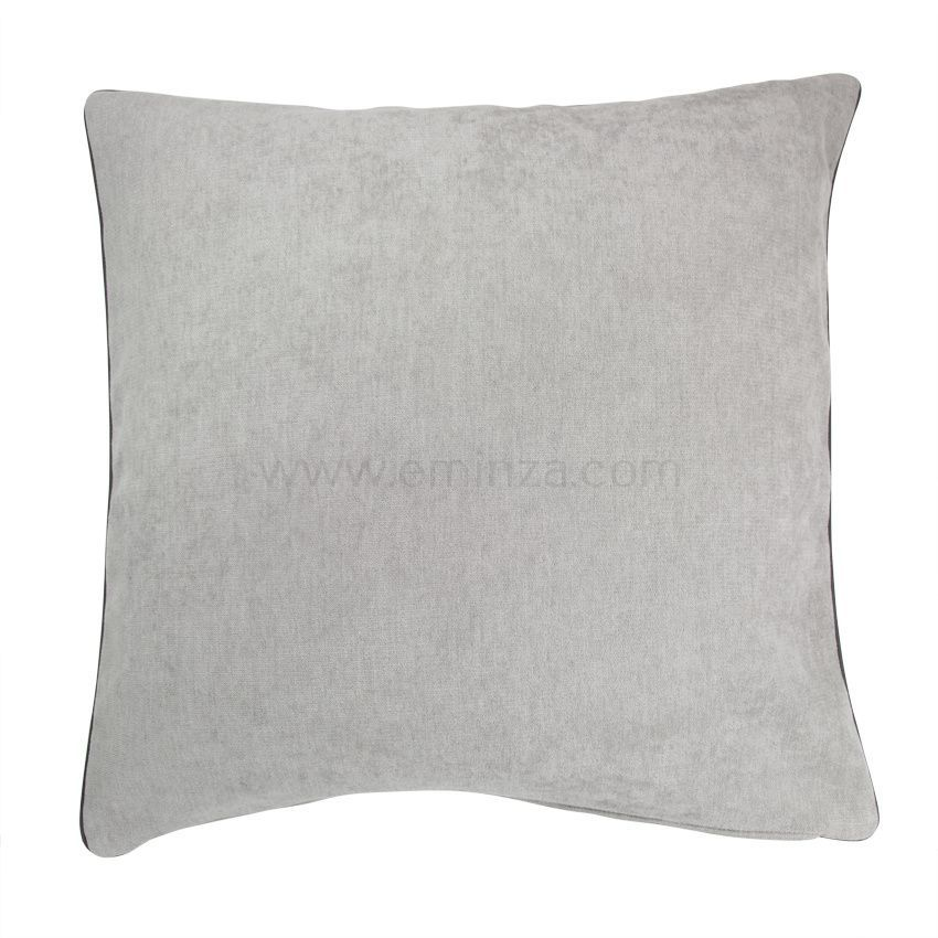 housse de coussin alaska gris clair coussin et housse de coussin eminza. Black Bedroom Furniture Sets. Home Design Ideas