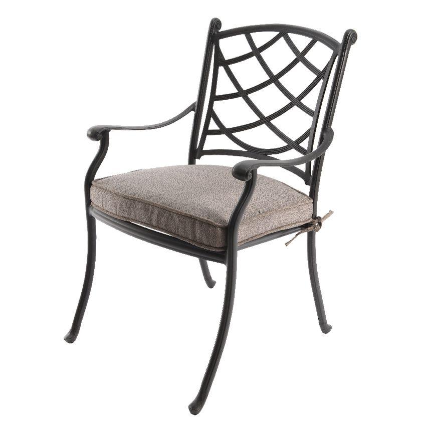 fauteuil de jardin style fer forg rosali anthracite chaise et fauteuil de jardin eminza. Black Bedroom Furniture Sets. Home Design Ideas