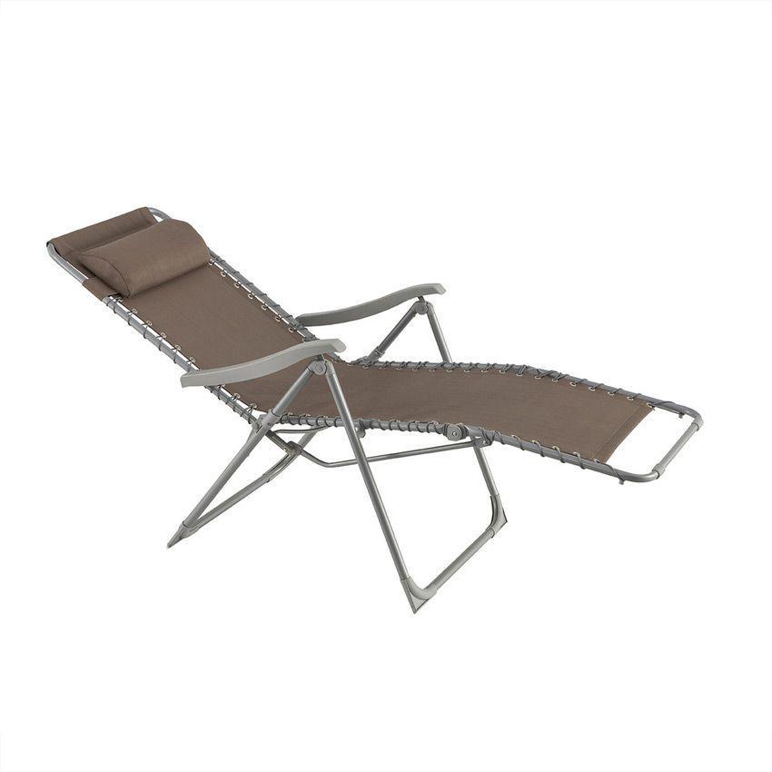 fauteuil d tente silos taupe bain de soleil eminza. Black Bedroom Furniture Sets. Home Design Ideas