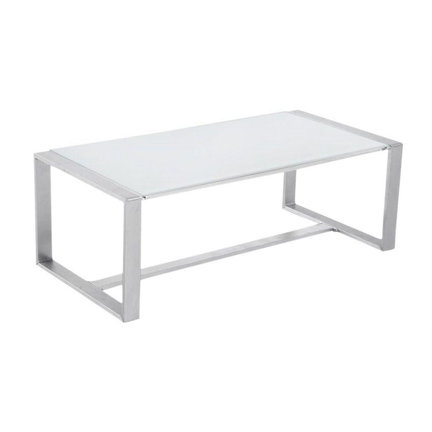 Table basse de jardin Sesimbra - Blanc - Salon de jardin détente ...