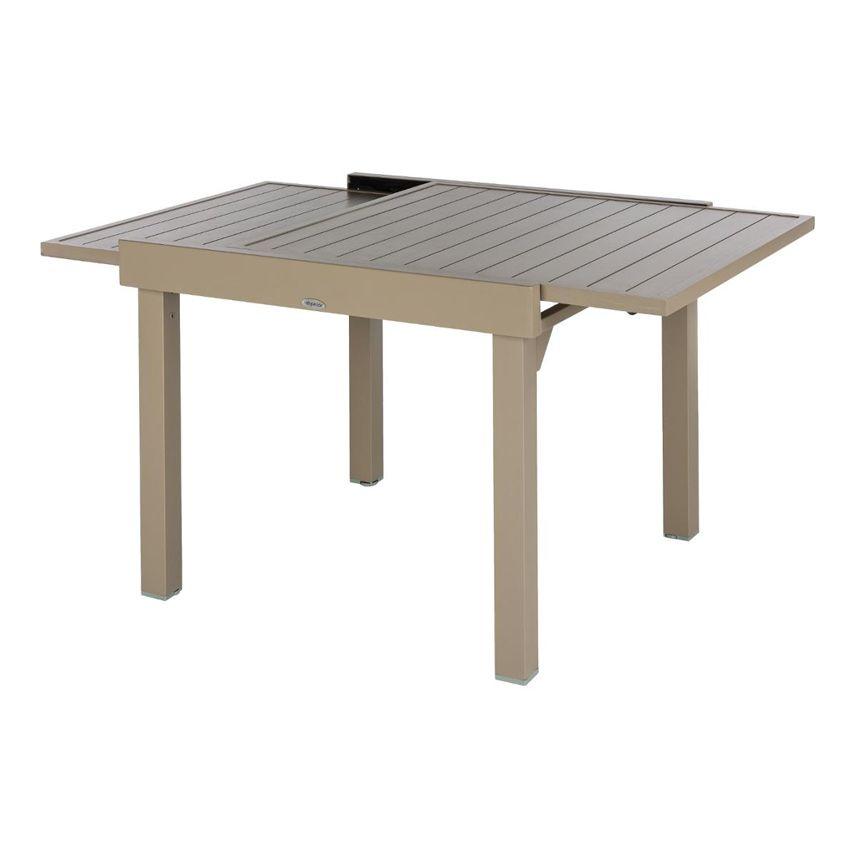best table de jardin extensible taupe gallery amazing. Black Bedroom Furniture Sets. Home Design Ideas