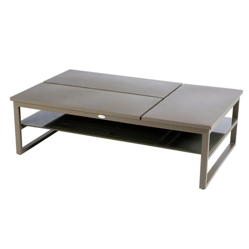table basse san rafael caf salon de jardin eminza. Black Bedroom Furniture Sets. Home Design Ideas