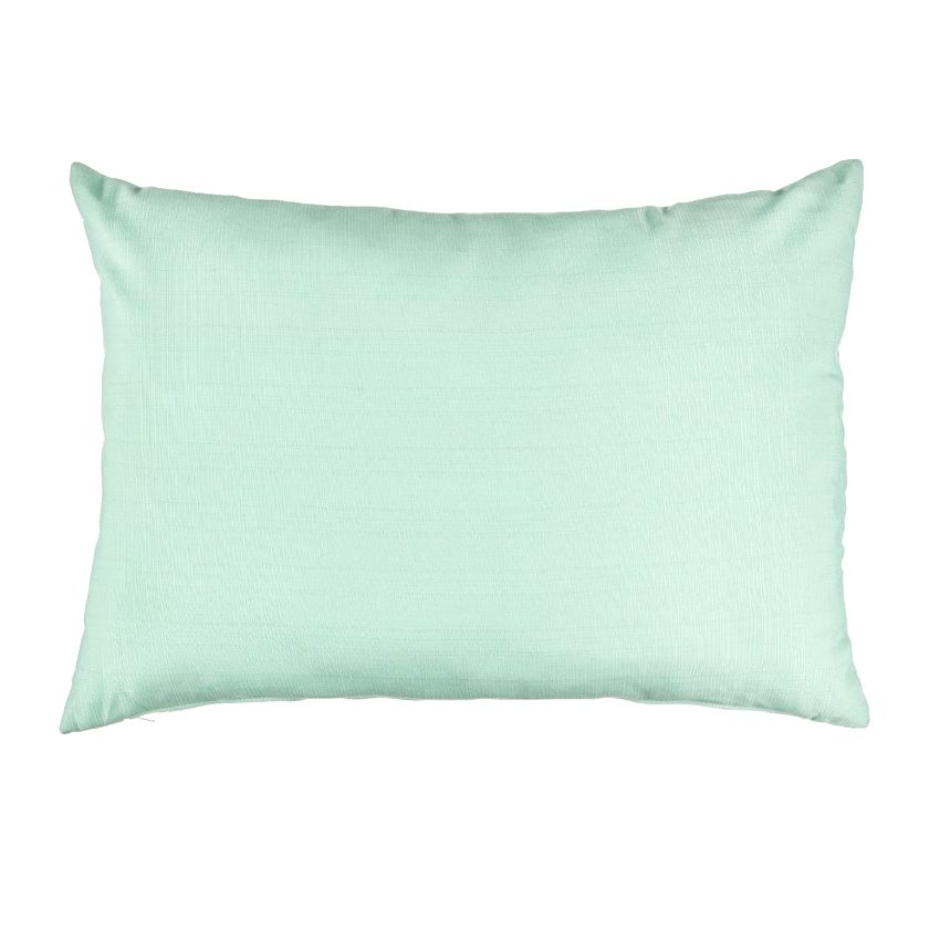 coussin river l60 cm vert d 39 eau coussin d co d 39 ext rieur eminza. Black Bedroom Furniture Sets. Home Design Ideas