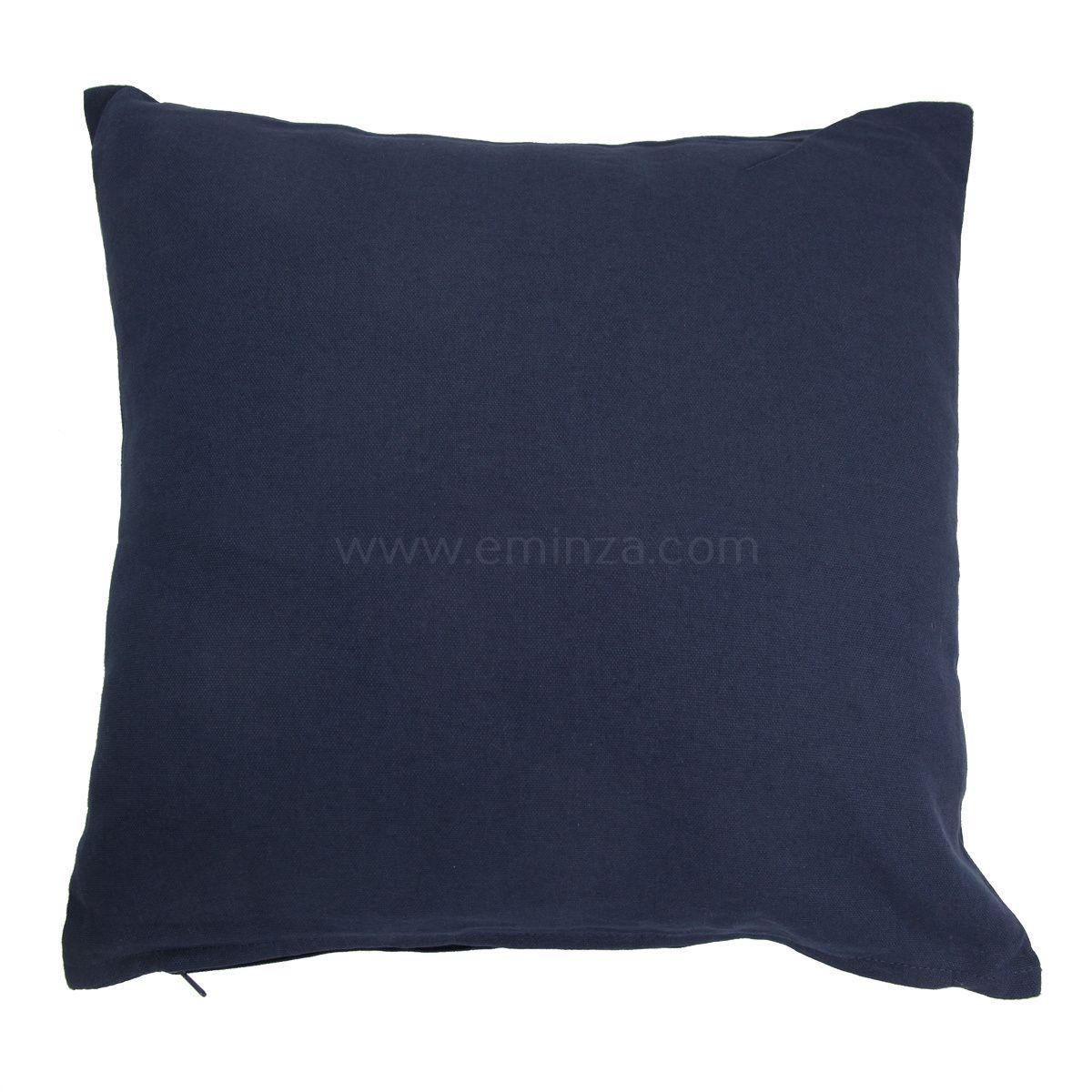 Coussin Bleu Marine : coussin 40 cm etna bleu marine coussin eminza ~ Teatrodelosmanantiales.com Idées de Décoration