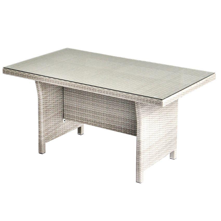 Table haute de jardin panama gris salon de jardin - Salon de jardin table haute ...