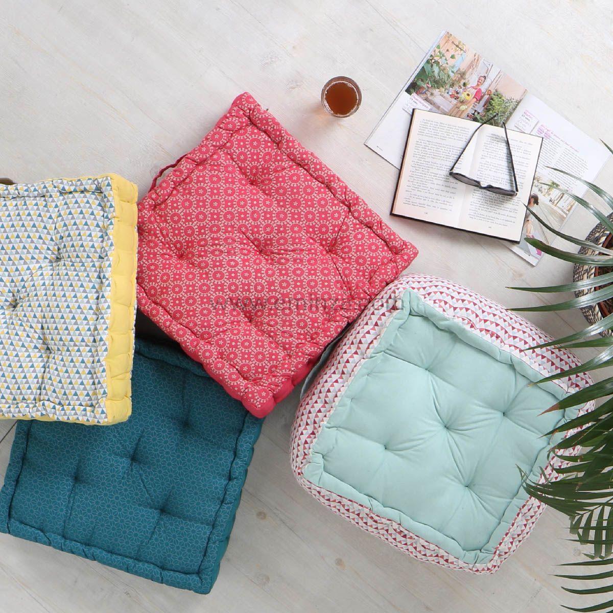 coussin de sol 45 cm isoc le celadon coussin de sol et. Black Bedroom Furniture Sets. Home Design Ideas