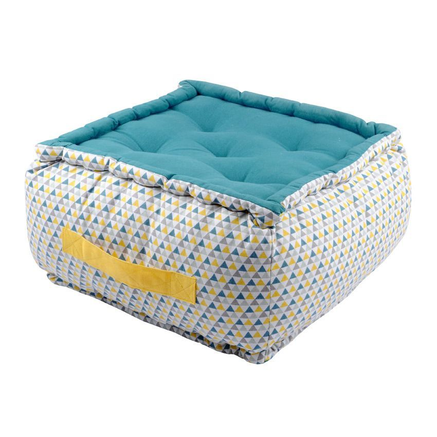 coussin de sol 40 cm isoc le celadon coussin de sol et pouf eminza. Black Bedroom Furniture Sets. Home Design Ideas