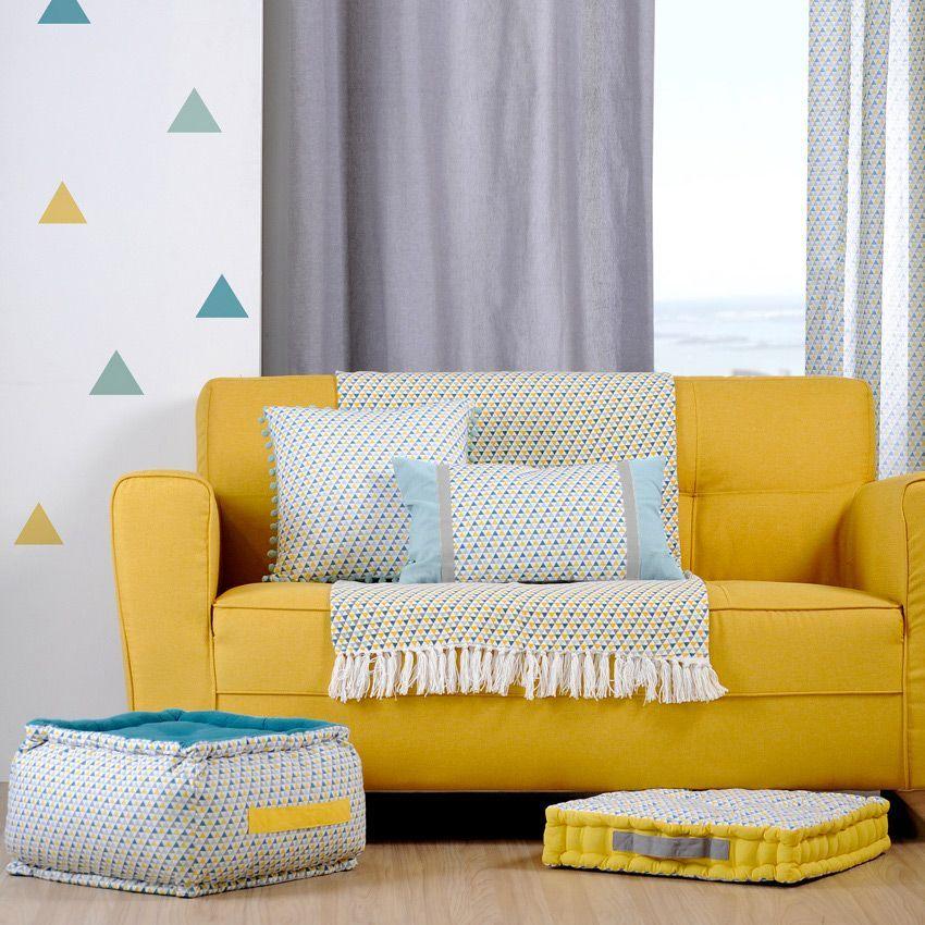 jet de canap 170 cm isoc le celadon jet de canap eminza. Black Bedroom Furniture Sets. Home Design Ideas