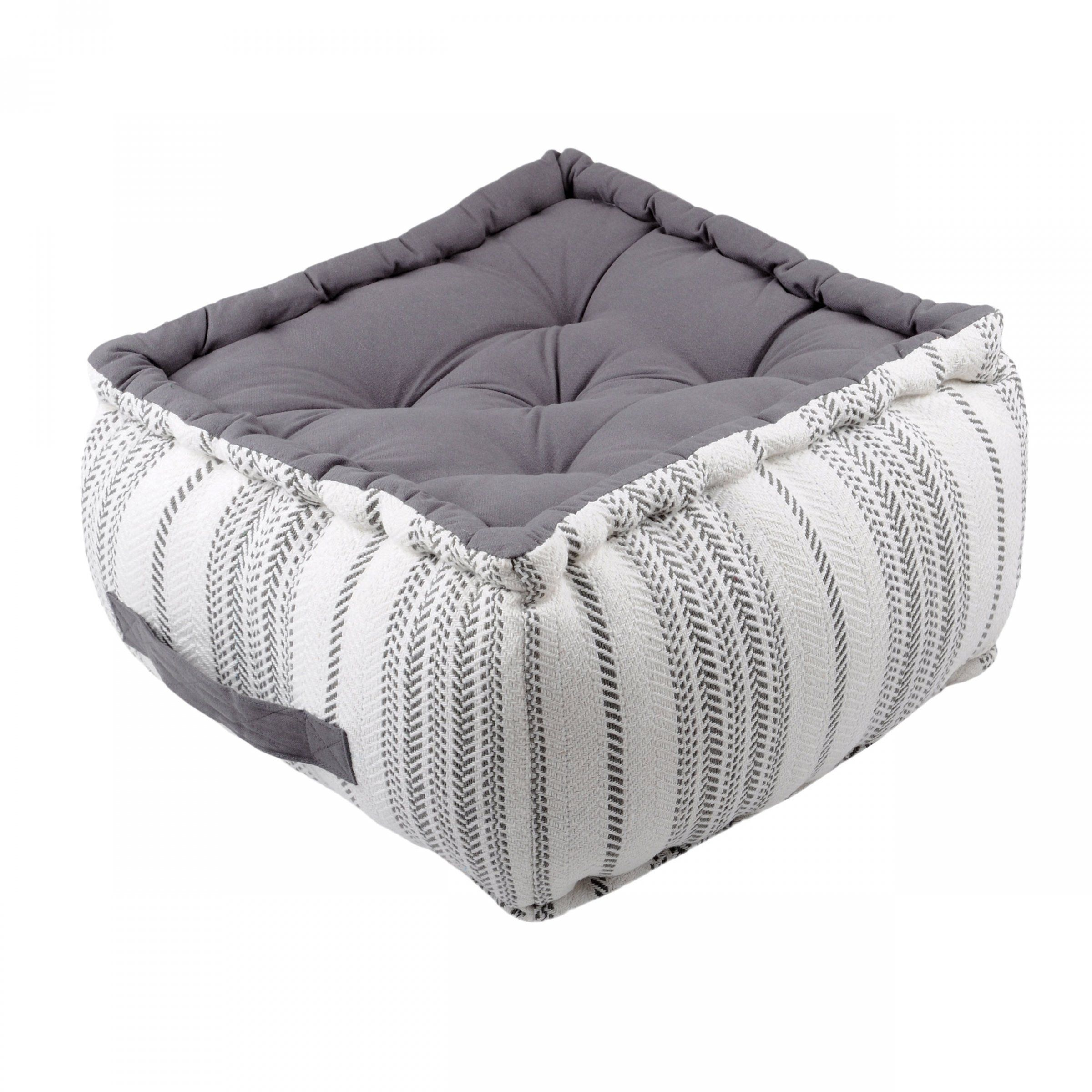 coussin de sol pouf 40 cm valdavia coussin de sol et pouf eminza. Black Bedroom Furniture Sets. Home Design Ideas