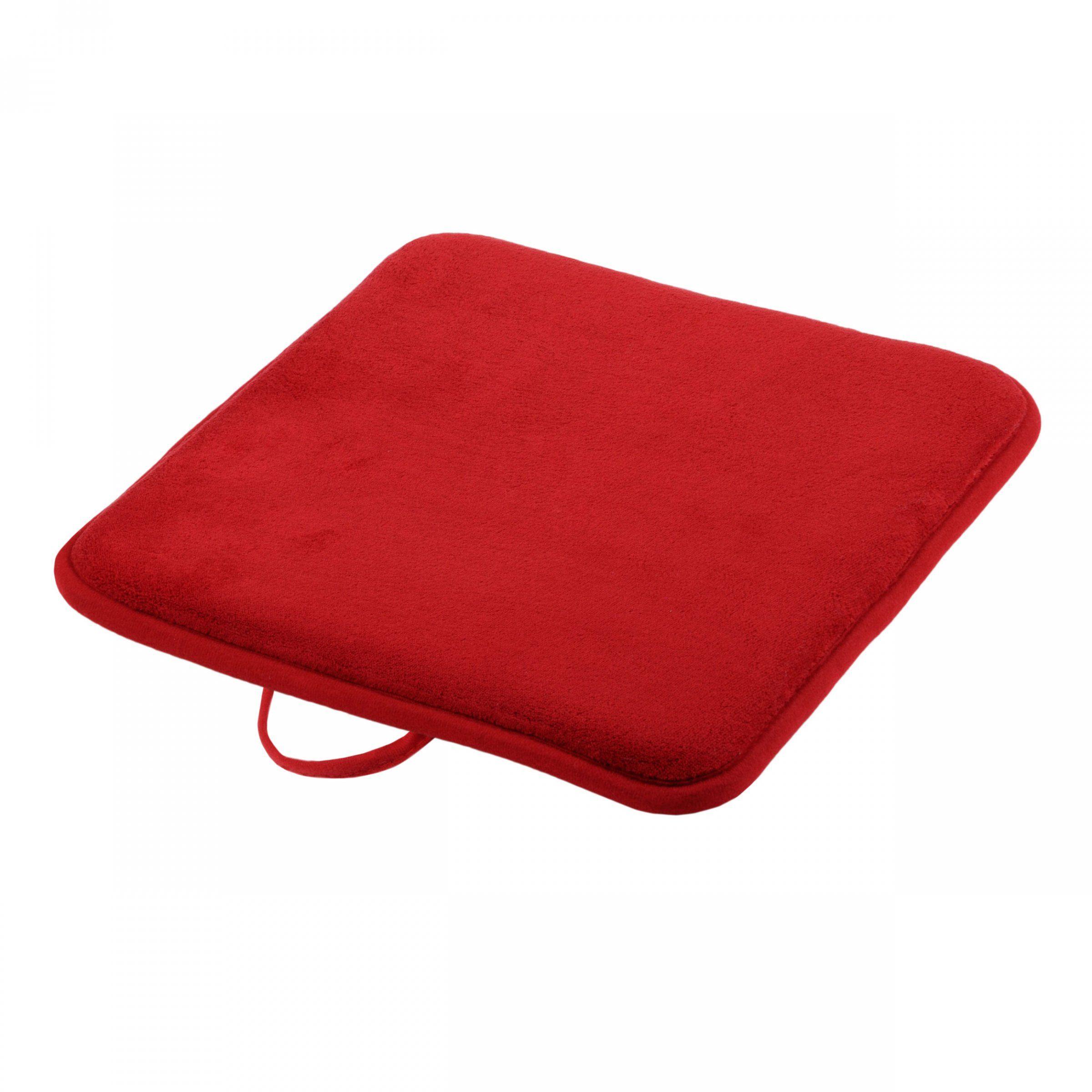 galette de chaise japan rouge galette et coussin de chaise eminza. Black Bedroom Furniture Sets. Home Design Ideas