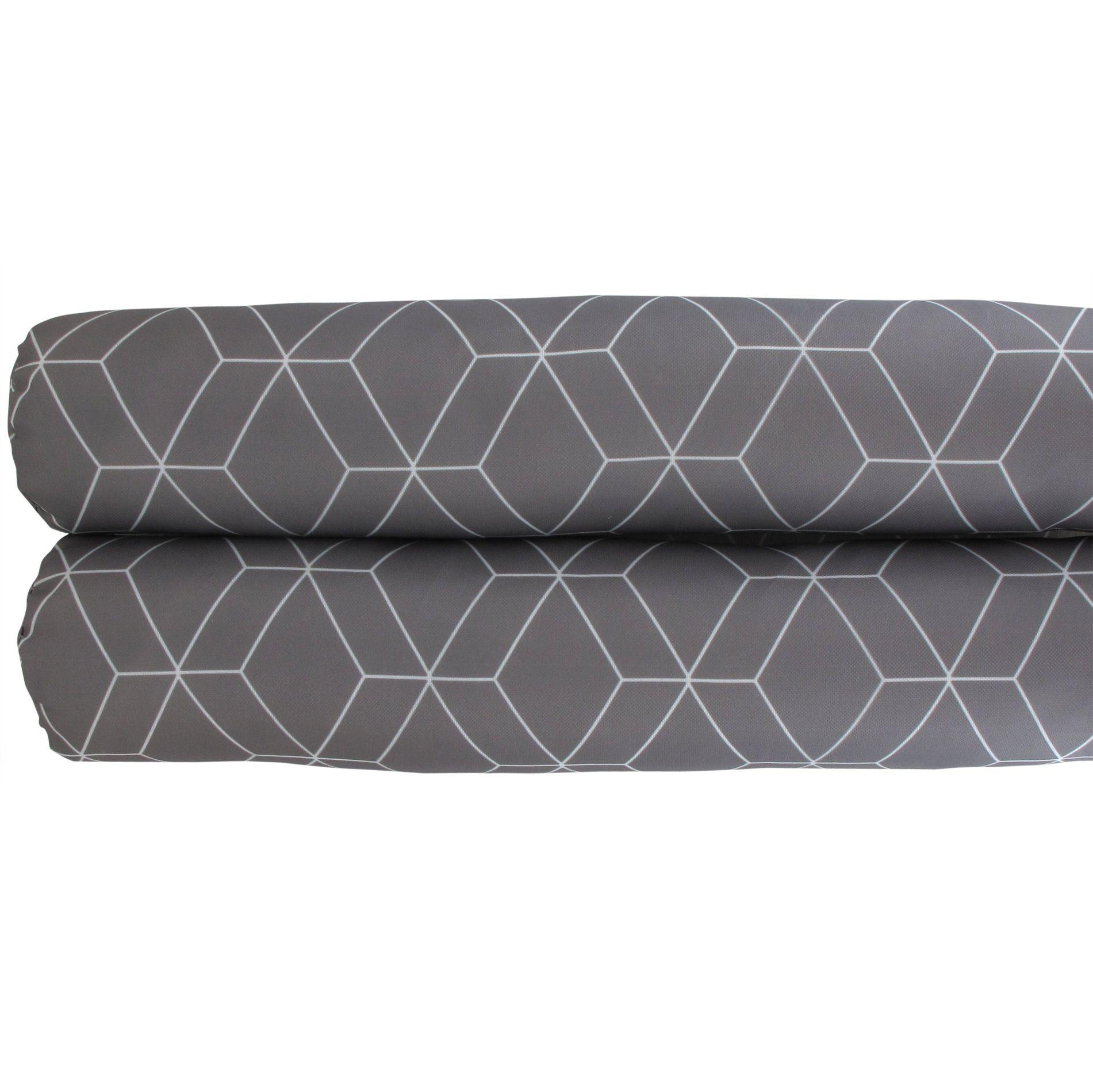 coussin bas de porte double bourrelet nordic home gris coussin bas de porte eminza. Black Bedroom Furniture Sets. Home Design Ideas