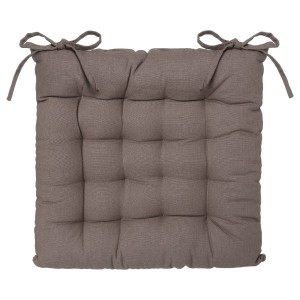 Coussin de chaise Lina Taupe