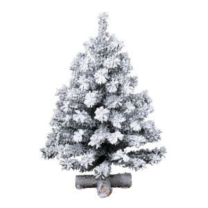 Sapin artificiel de table Toronto H45 cm Vert enneigé