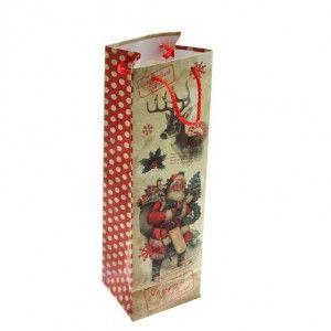 sac cadeau bouteille traditionnel emballages cadeaux eminza. Black Bedroom Furniture Sets. Home Design Ideas