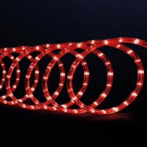 Tube lumineux 10 m Rouge 180 LED