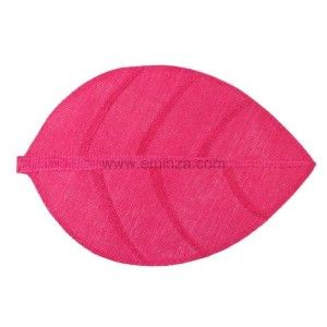 Placemat Feuille Fuschia